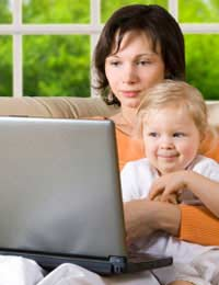 Family Working From Home Business
